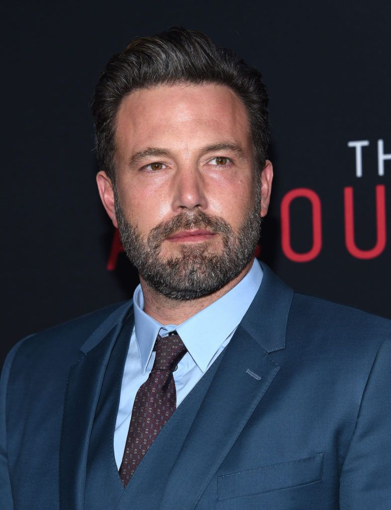 Ben Affleck's grey hairstyle