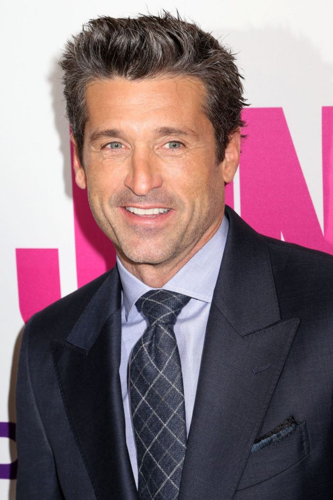 Patrick Dempsey's grey hairstyle
