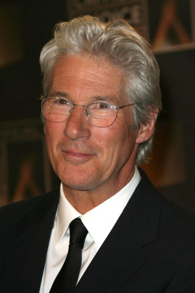 Richard Gere's grey hairstyle
