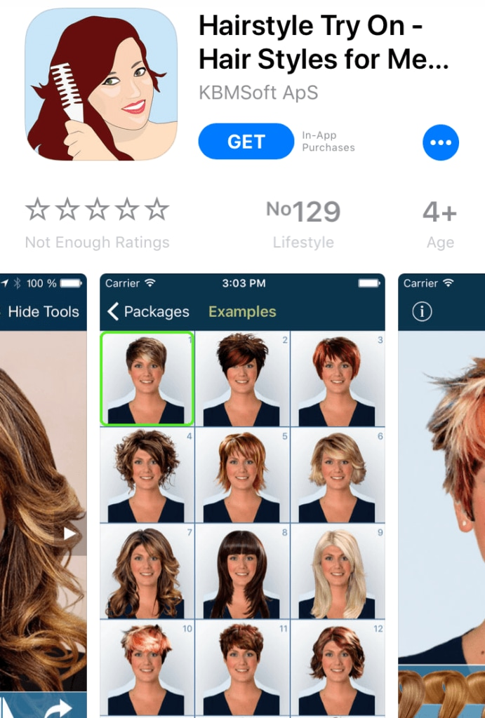 These apps determine the perfect hairstyles for your face shape