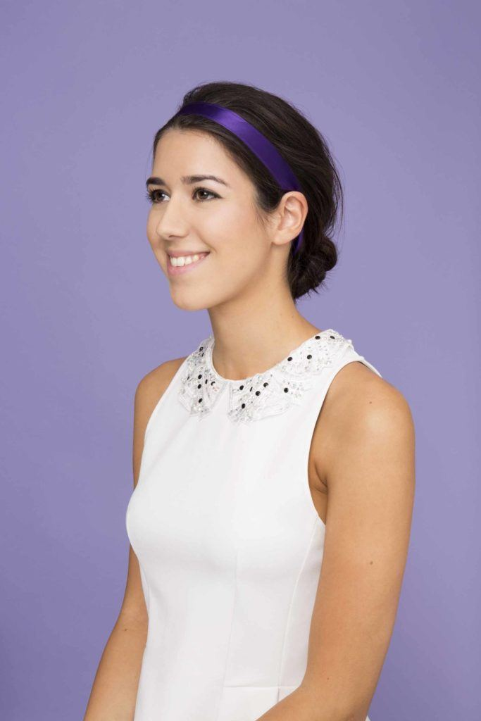 easy-updos-low-bun-with-ribbon