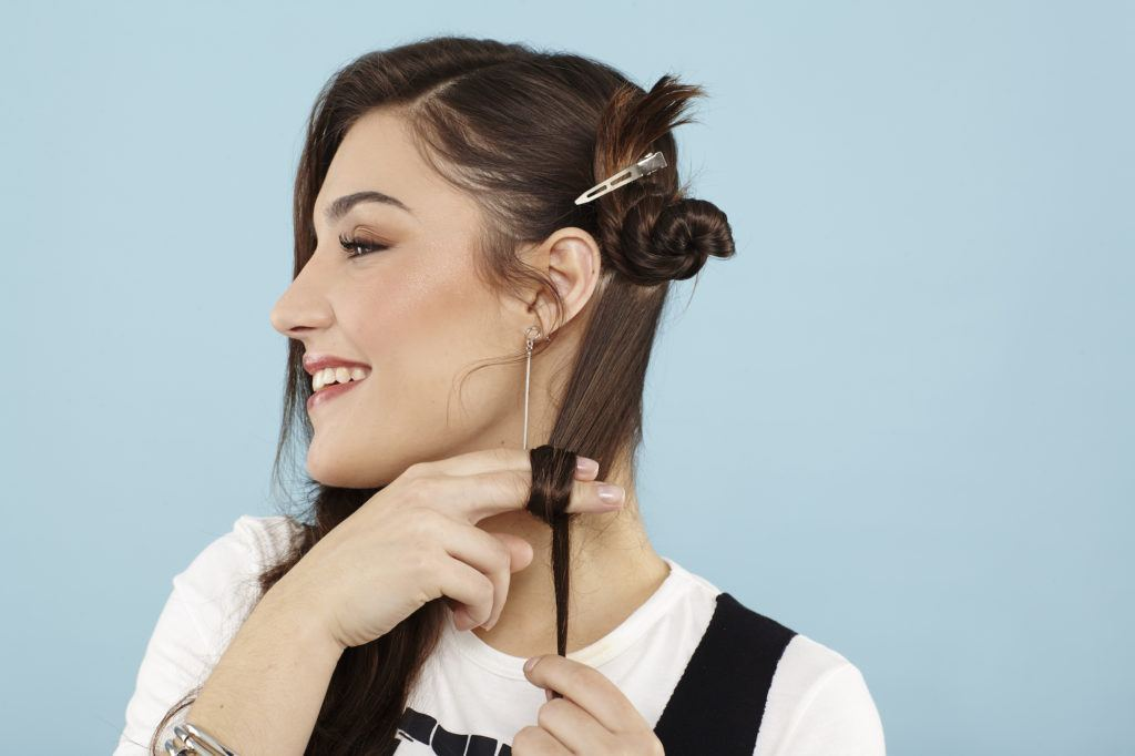 pin curls heatless hairstyles