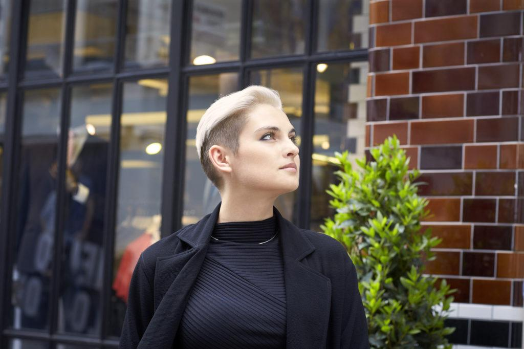 pixie fade for short hair