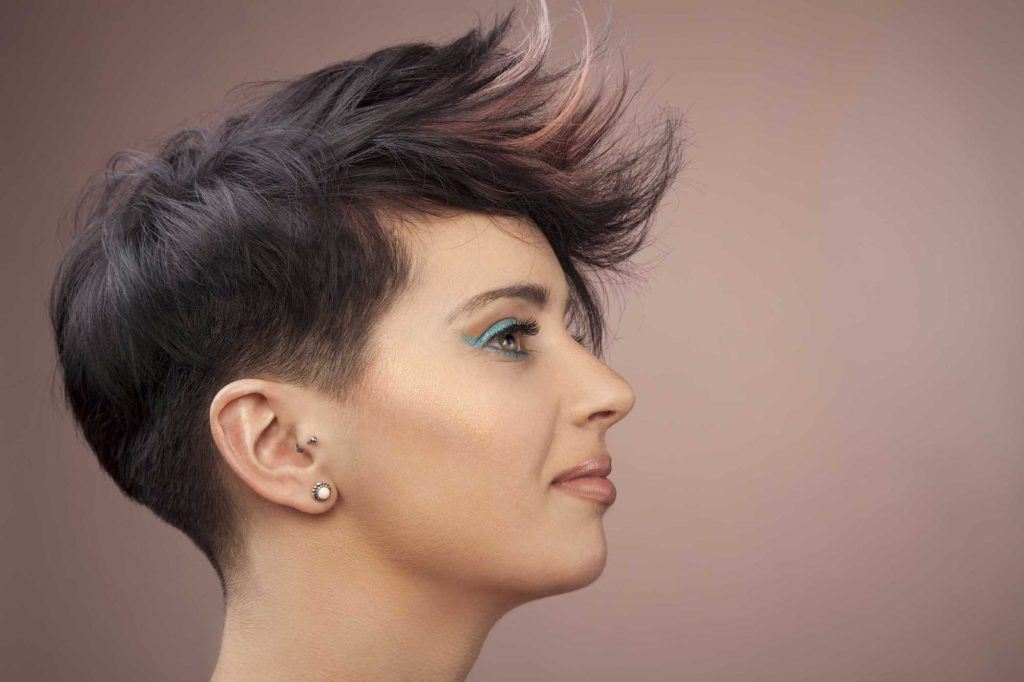 upgrade short hair with pastel ends