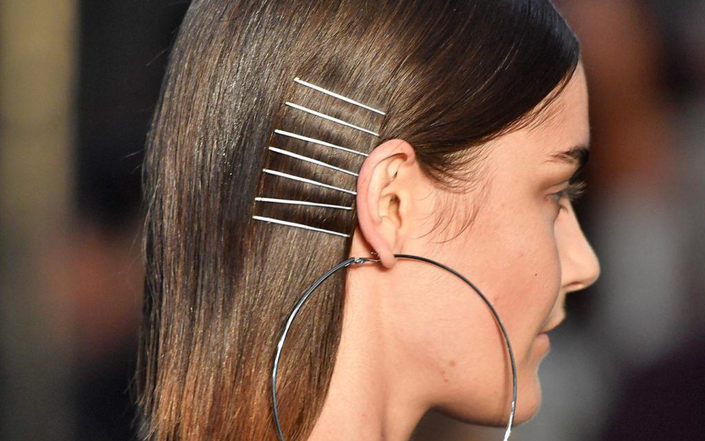 bobby pins hairstyles stacked on the side