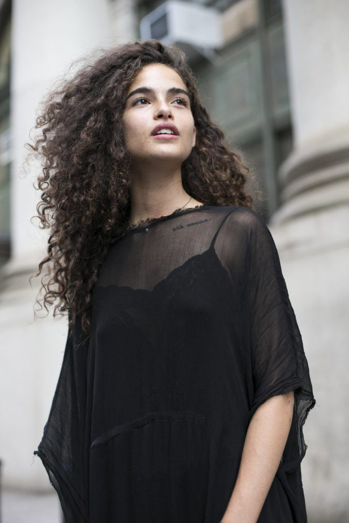 hairstyles for different types of curly hair: voluminous