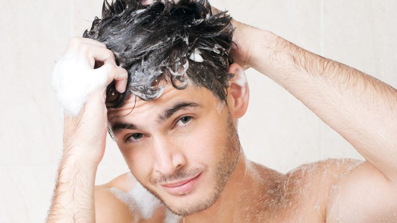 mens hair grooming habits use conditioner