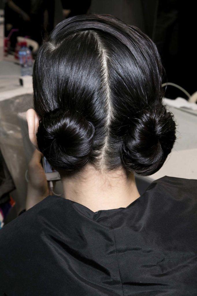 double bun hairstyles