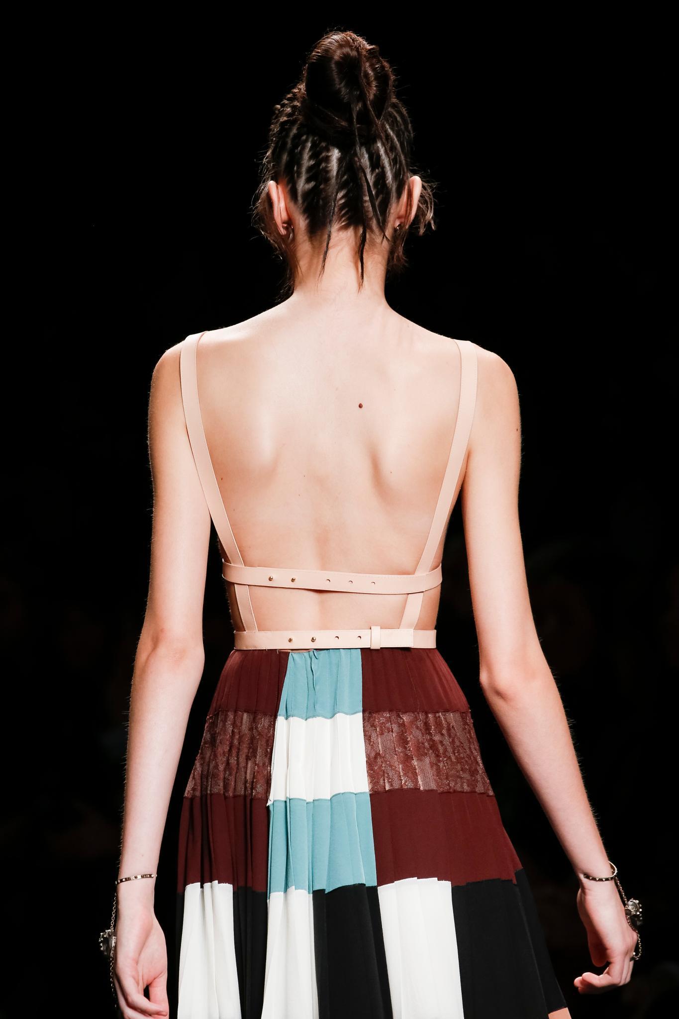 back details goddess braids fashion week runway
