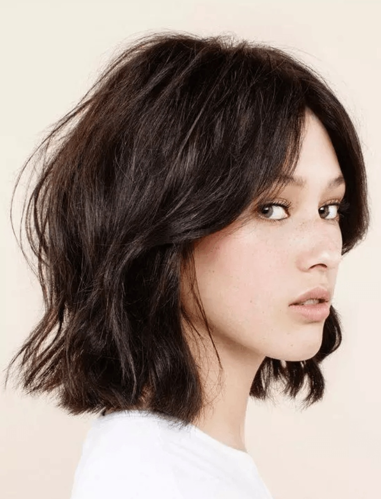 2018 Hair trends: tousled bob