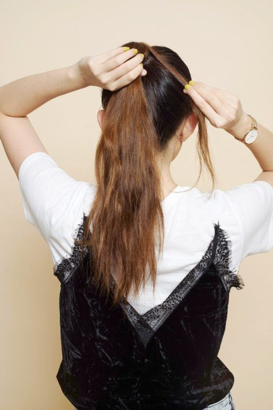 Four Strand Hair Braid -hide hairband
