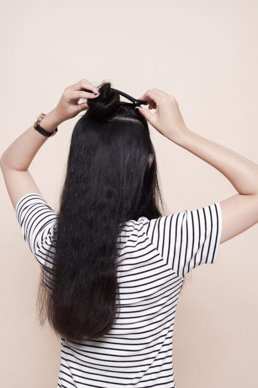 How to use a flat iron – Step 4