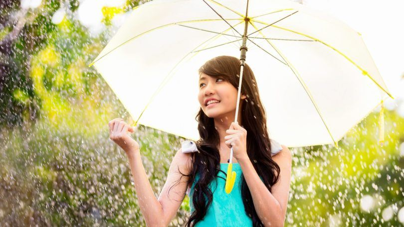 Rainy day hair care tips - Feature
