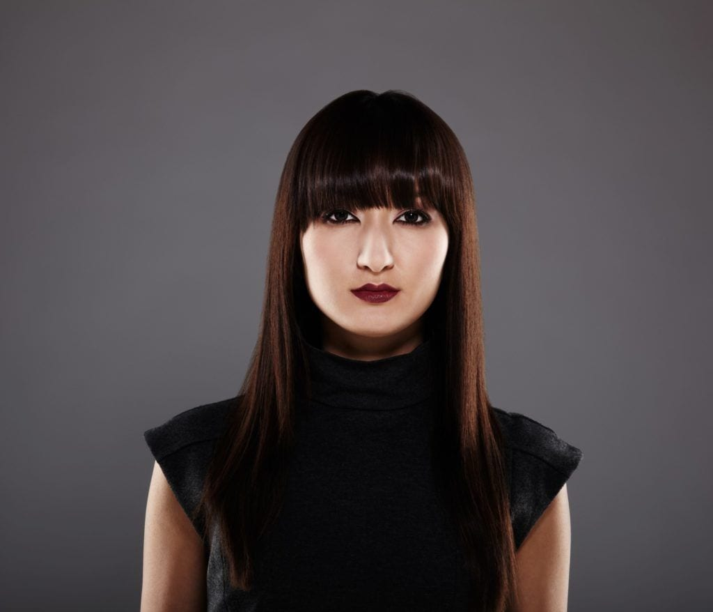 Japanese hairstyles - blunt bangs