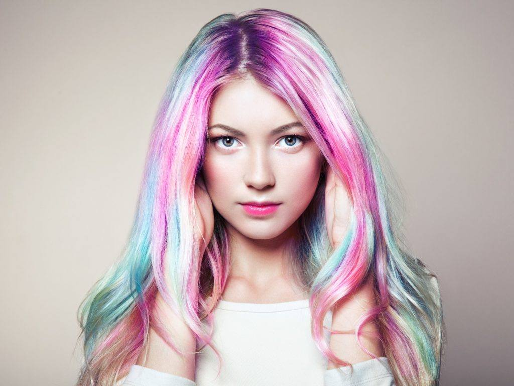 Unicorn hair - Long and vibrant Shutterstock