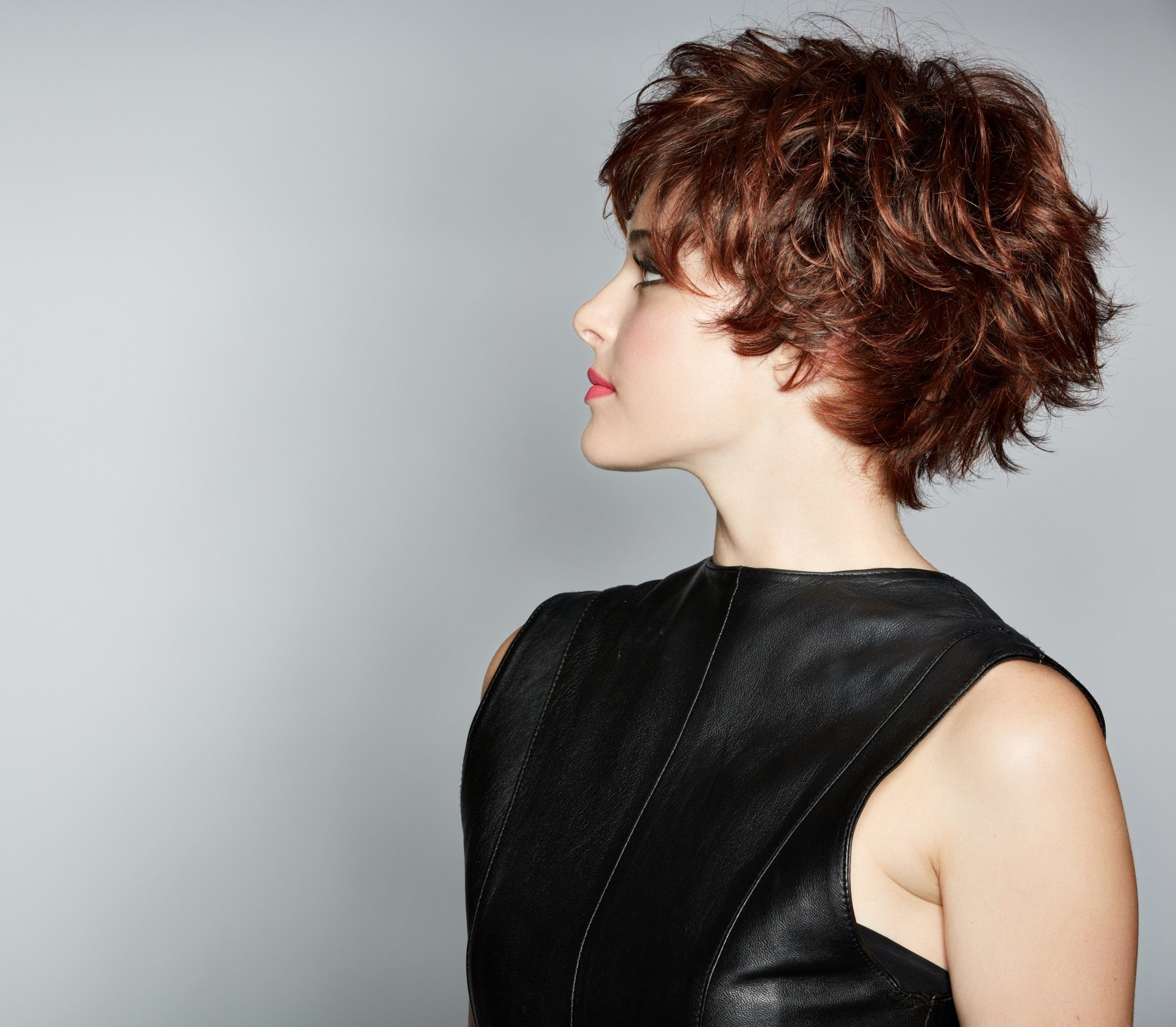 Short hairstyles for thick hair: Textured pixie cut