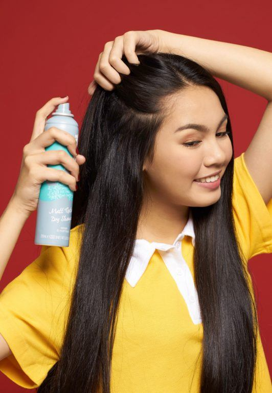 Image result for dry shampoo spray asian