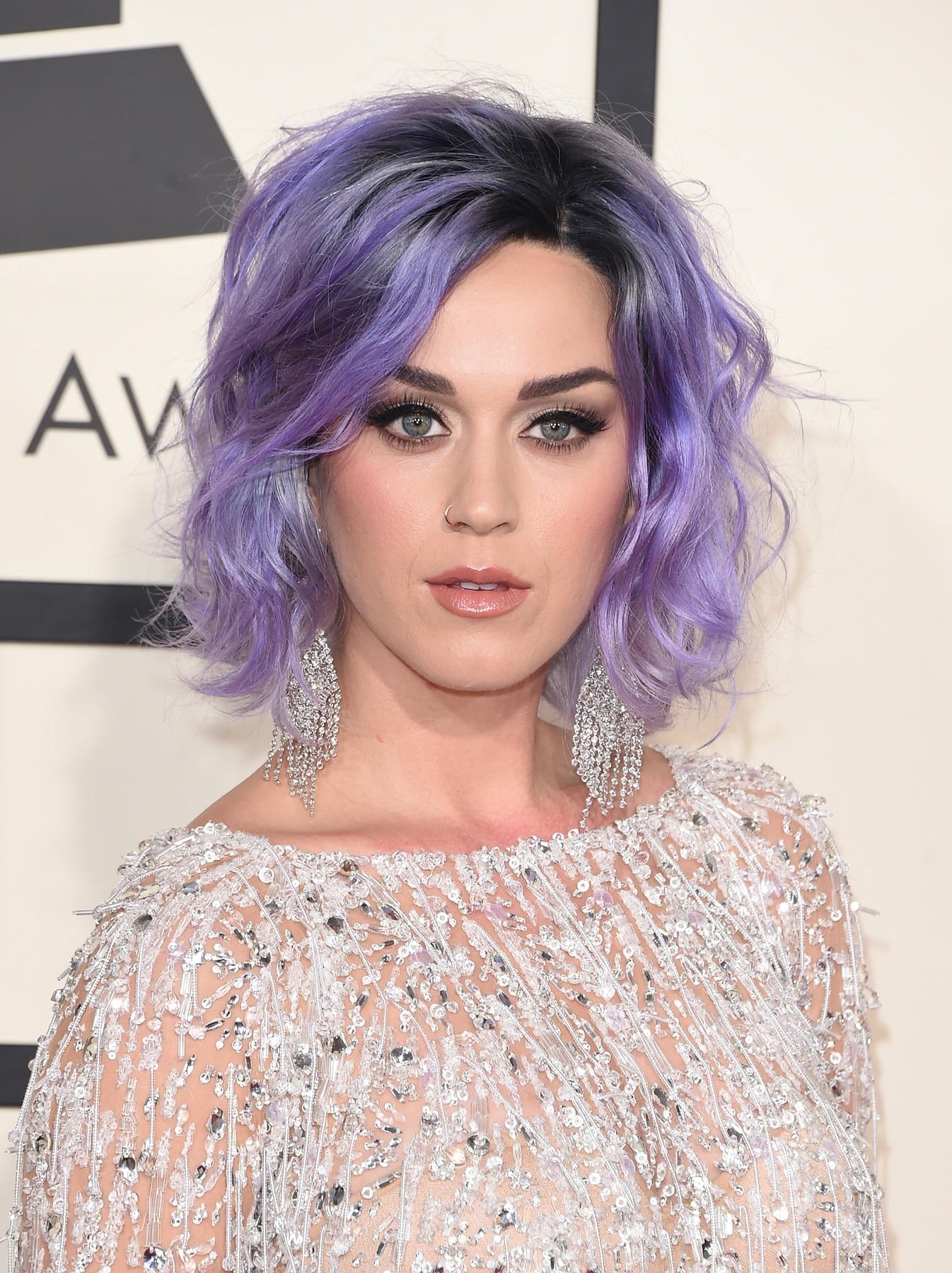 สีผม 2018 Katy Perry