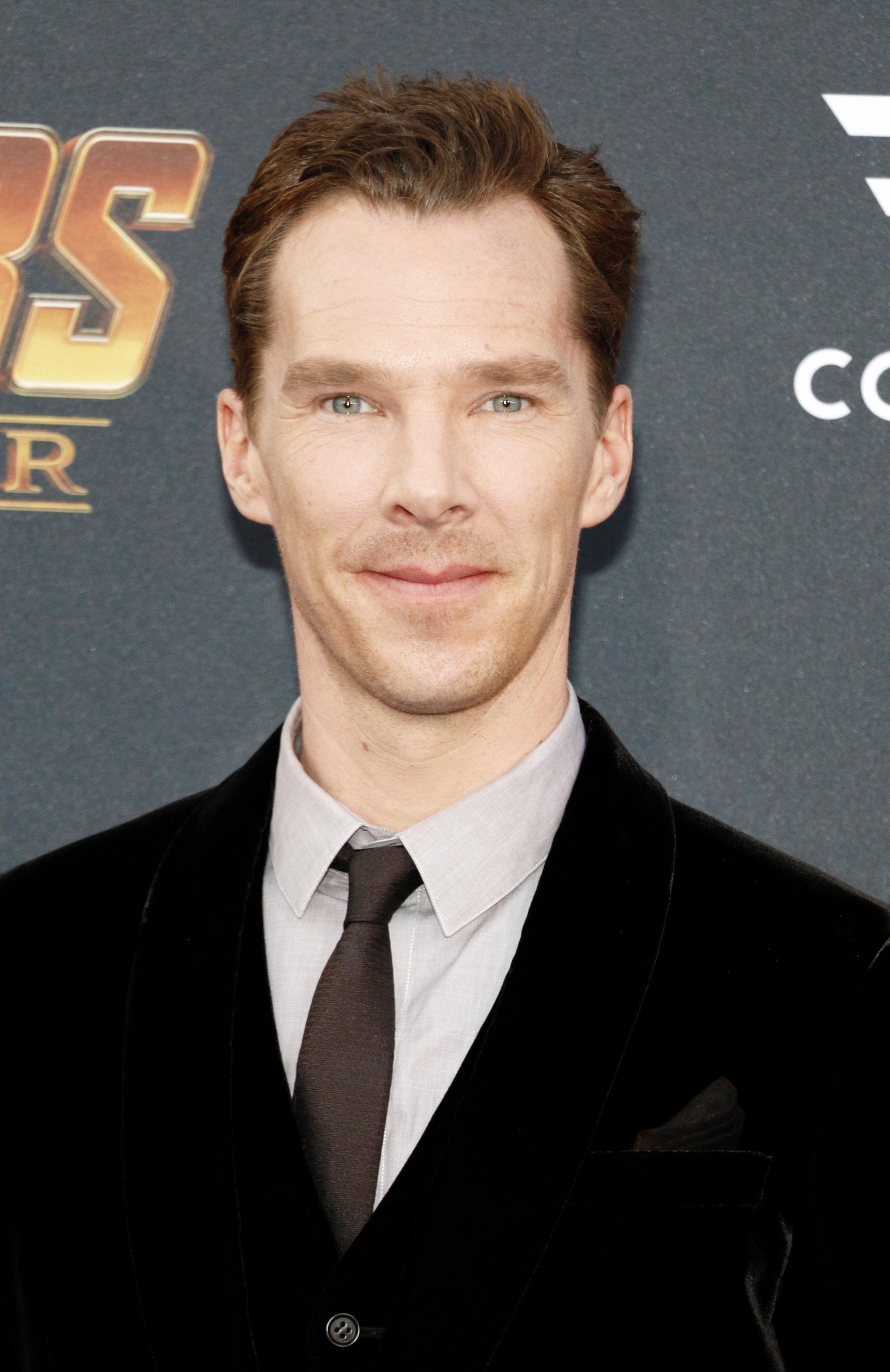 ทรงผม Benedict Cumberbatch