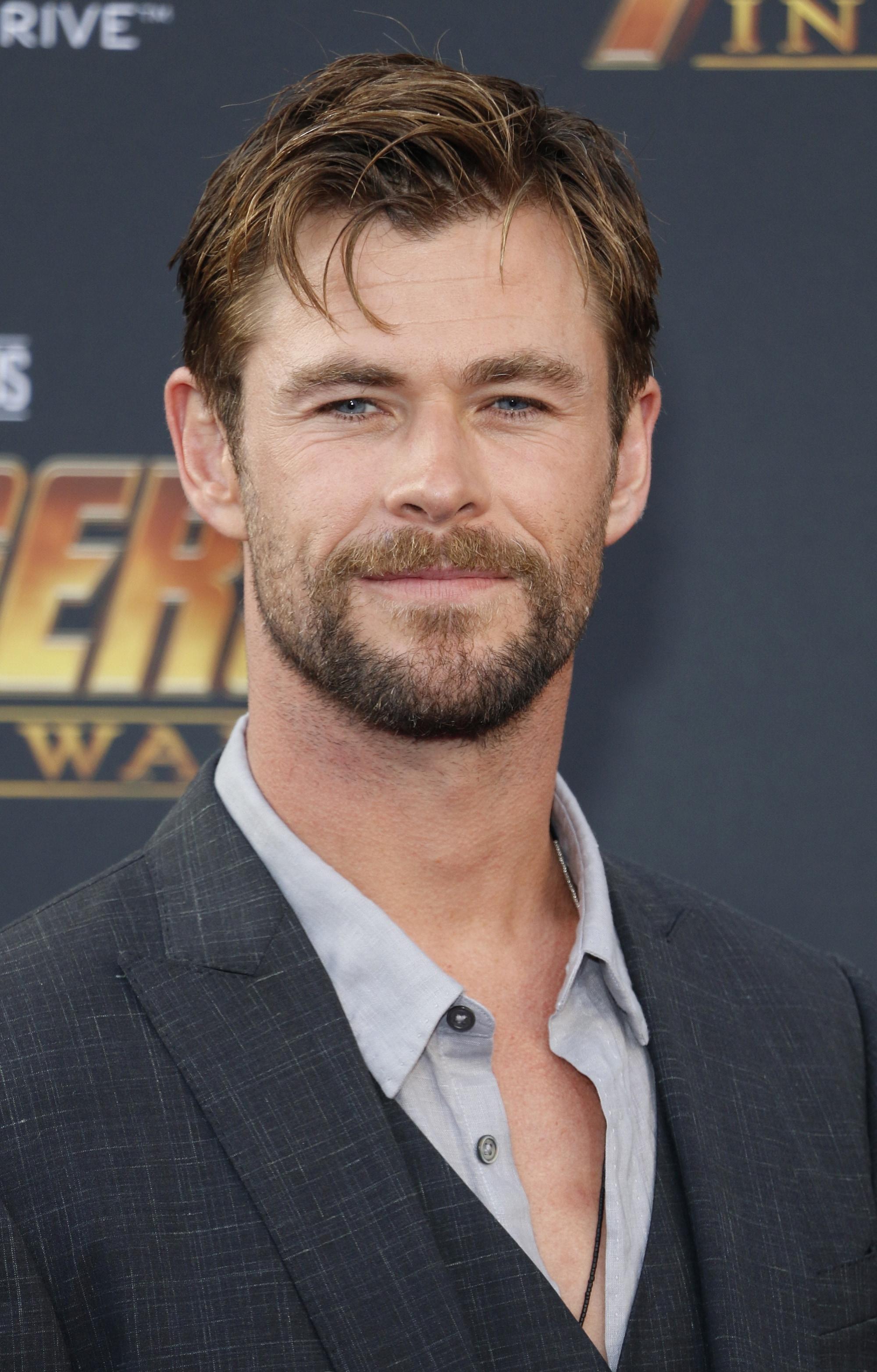 ทรงผม Chris Hemsworth