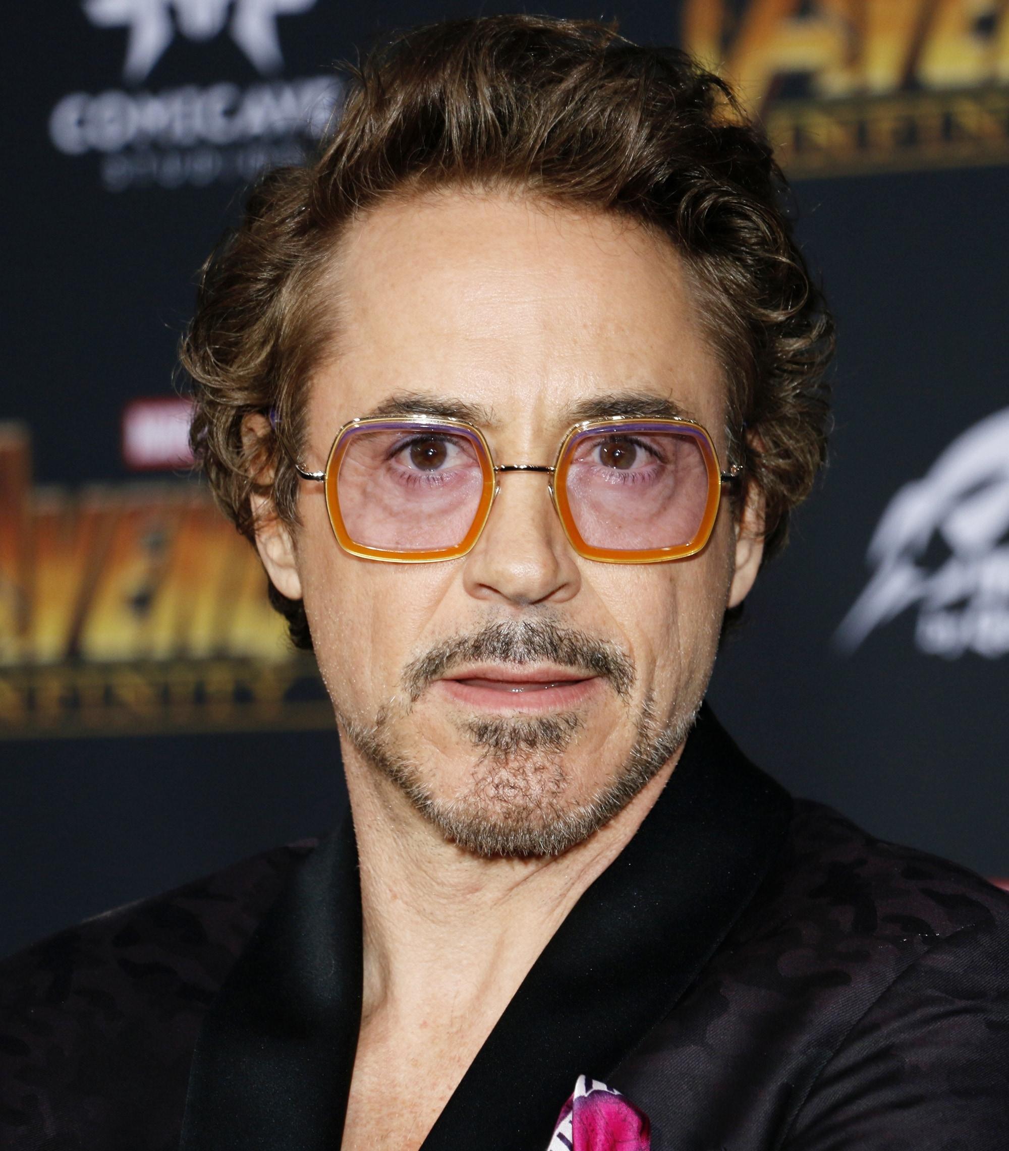 ทรงผม Robert Downey Jr.