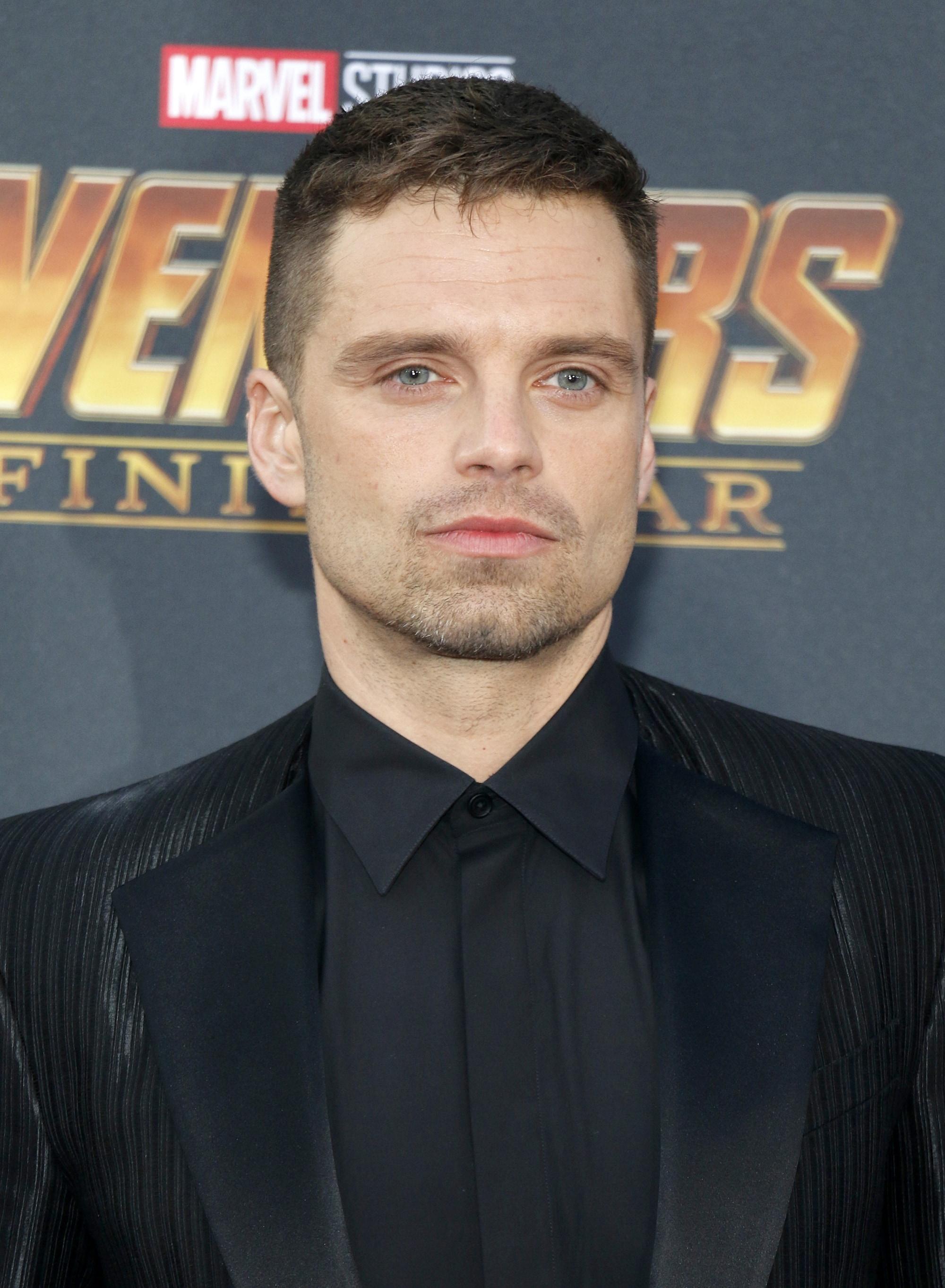 ทรงผม Sebastian Stan