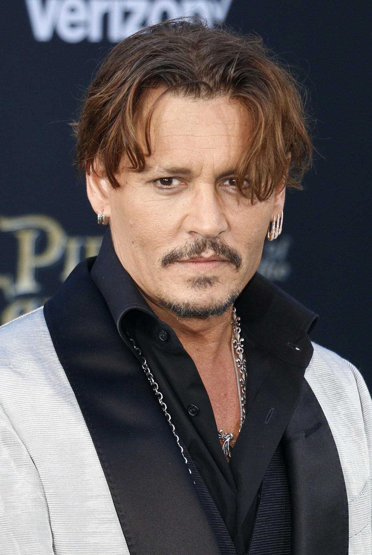 จอห์นนี เดปป์ Johnny Depp ทรงผมชาย ยุค 90